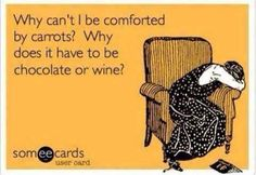 Comforted by Wine and Chocolate
