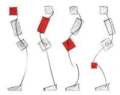 ゲームアート 古典に学ぶキャラクターと世界の描き方 〜重力と動き〜 | 特集 | CGWORLD.jp Human Anatomy Drawing, Human Figure Drawing, Figure Drawing Reference, Pose Reference, Art Sketches, Art Drawings, Drawing Faces, Wings Drawing, Drawing Skills