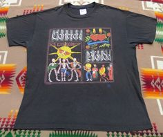 Up for sale is this classic vintage Concrete Blonde Destino Tour Mexican Moon Shirt. Concrete Blonde, Vintage Rock T Shirts, Band Shirts, Concert Posters, 1990s, Shirt Designs, Trending Outfits, Tees, Moon