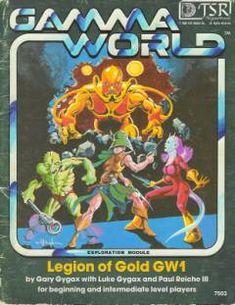 Gamma World - Legion of Gold adventure module by Erol Otus