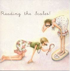 Reading The Scales by Berni Parker