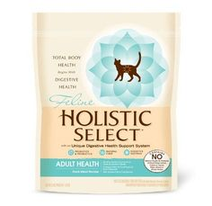 Holistic Select Natural Dry Cat Food, Duck, 3-Pound Bag