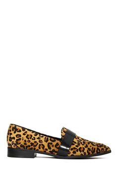 Shoe Cult Pulau Loafer - Leopard | Shop Shoes at Nasty Gal