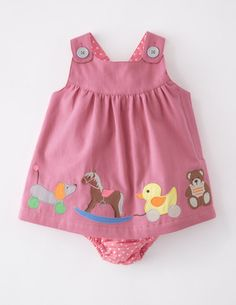 I've spotted this @BodenClothing Appliqué Button Pinnie Tea Rose/Toys