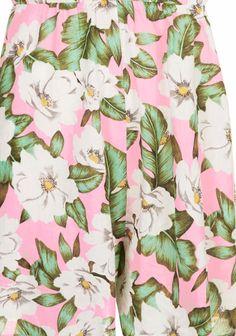 topshop tropical floral