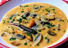 Soup Recipes, Diet Recipes, Vegetarian Recipes, Cooking Recipes, Healthy Recipes, Hungarian Recipes, Hungarian Food, Weekday Meals, Vegan Comfort Food