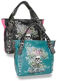 skull purses are always cool! Luxury Handbags, Purses And Handbags, Fashion Bags, Fashion Accessories, Mode Cool, Skull Purse, Skull Fashion, Cute Purses, Purse Wallet