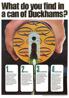 Duckhams Ad 1971