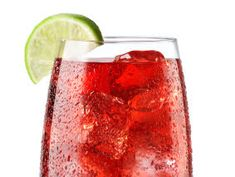 Cosmopolitan Lite: 75 calories, 0 g fat  Lighten it up by squeezing a wedge each of lime and orange into 1 oz of cranberry flavored vodka. Top with club soda and serve on the rocks.