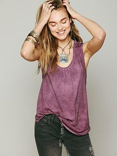 We The Free Ry Ry's Apron Shirt at Free People Clothing Boutique