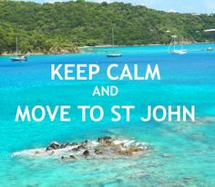 Keep Calm St John USVI