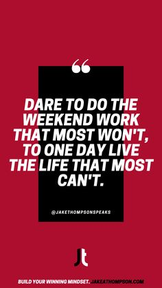 It's the work you do now that creates the life you want tomorrow. Do the work outside of your 9-5 to create the life that others can't. Leadership Games, Silly Questions, Good Employee, Slow Burn, To Strive, Keynote Speakers, Growth Mindset, Training Programs, The Life