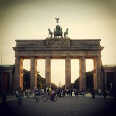 Berlin Brandenburg Gate. It was commissioned by King Frederick William II of Prussia as sign of peace and built from 1788 to 1791. Damaged during the second World War, was fully restored in 2000/2002. During the partition of Germany the gate was inacessible till the opening of the wall in 1989. Now is a symbol of German history, but also of European unity and peace.