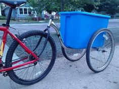Simple No-Weld Bike Trailer