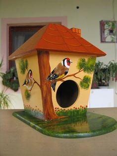 beautiful individual bird house
