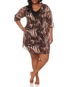 Rollover image to zoom Item #717462  SHARE Share on facebook Share on pinterest_share Share on twitter Animal print beach cover up