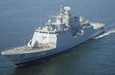Corveta Barroso, da Marinha do Brasil (Foto: Divulgação)