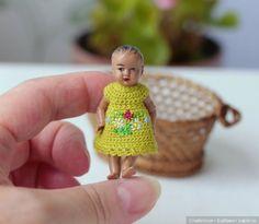 Миниатюрные куколки тоже хотят быть красивыми / Винтажные антикварные куклы, реплики / Бэйбики. Куклы фото. Одежда для кукол