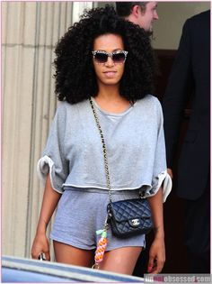 Solange Knowles Wedding Photos | Solange Knowles Leaving Beyonce's Apartment In New York