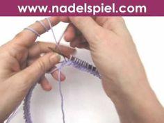 """Stricken lernen * Super Easy """"Möbius"""" eliZZZa * Möbiusschal * Möbiuskragen - YouTube Knitting Stiches, Hand Knitting, Knitting Patterns, Cowl Scarf, Needlework, Knit Crochet, Youtube, Tips, Super Easy"""