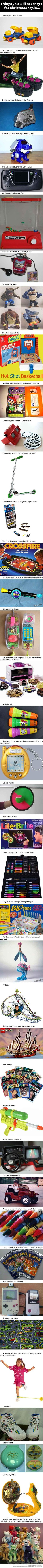 Oh my goodness!! I played with almost every single one of these. Good times...