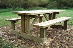 Table de pique nique en bois - Code produit: 4419477 - Cliquez sur la photo pour voir la fiche produit