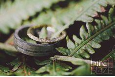 Custom groom's ring. Palladium set with raw diamond cubes by Todd Reed. Image by Birch Blaze Studios. Wedding ring shots. #ferns