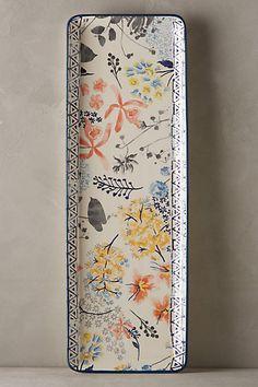 Garden Palette Serving Platter