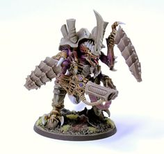 Armoured Shell, Conversion, Hive Tyrant, Tyranids. Warhammer 40k Miniatures #miniatures #warhammer40k #40k