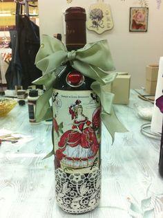 Vintage Wine Bottle 2