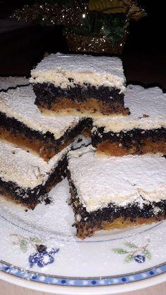 Sütőtökös mákos pite, nem tudtam mit készítsek a sütőtökből, ezért pompás édesség lett belőle! Good Food, Yummy Food, Sweet Cookies, Arabic Food, Christmas Is Coming, Winter Food, Tiramisu, Vegan Recipes, Sweets