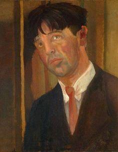 Stanley Spencer, Self  Portrait on ArtStack #stanley-spencer #art