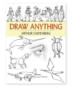 Another great find on #zulily! Draw Anything Book - Paperback by Dover Publications #zulilyfinds