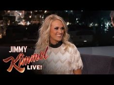 Jimmy Kimmel Live: Carrie Underwood on Singing the National Anthem at Sporting Events