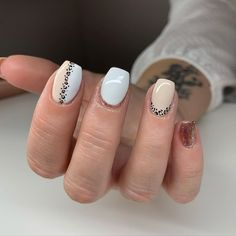 Cute Nail Colors, Leopard Nails, Summer Acrylic Nails, Heart Nails, Nail Polish, Nail Nail, Love Nails, Simple Nails, Cosmetology