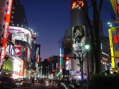 Tokyo (Shibuya) at dusk...