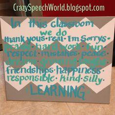 Crazy Speech World: In Our Room...{DIY}