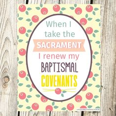 Life's Journey To Perfection: 2017 LDS Sharing Time Ideas for May Week 4: When I take the sacrament I renew my baptismal covenants.