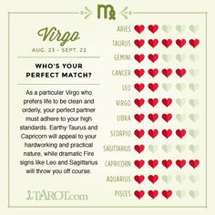 compatible matches for virgo