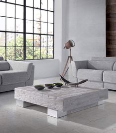 Mesa de centro moderna Neri en Ámbar Muebles