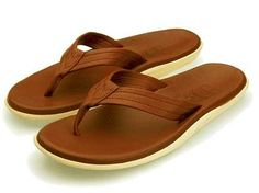 Island Pro Classic PT 202 Mens Leather Sandals - buff brown - 11