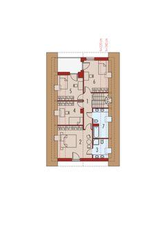 Riko G1 - projekt domu - Archipelag Modern House Design, My House, House Plans, Floor Plans, Women's Fashion, How To Plan, American Houses, Little Cottages, House