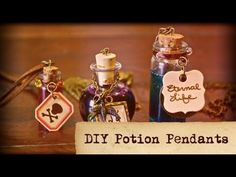 DIY Potion Pendants