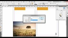 Creating and Applying Master Pages in Adobe InDesign