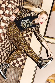 Leopard Print Tracksuit. Swag. Sneakers Outfit. Hip Hop Outfit. Urban Fashion. Iggy Azalea Style