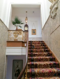 The grand staircase leads first to the bel etage or main level. Follow the link to see more! http://mikestravelguide.com/things-to-do-in-amsterdam-visit-museum-willet-holthuysen/