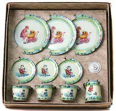 Victorian Dolls Tea Set - Google Search