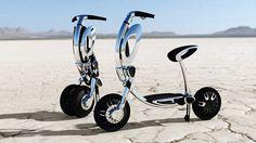 Lo scooter elettrico che si ripiega in 5 secondi #energYnnovation  #terra