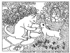 free animal coloring pages for adults | halloween fun page with coloring pages art origami links and more