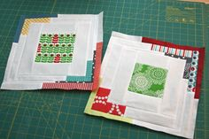 cc8. Converging Corners quilt block. Makes a gorgeous, improv looking, quilt. Tutorial.
